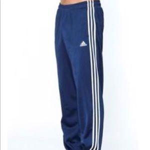 Adidas Blue White Track Pants